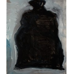 Bag Body // Patrick Collins, 1911-1994 // Acrylic on canvas // 40x30cm // 2015