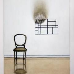 Militant Mondrian // Oil on Canvas // 45 × 60 cm // 2014