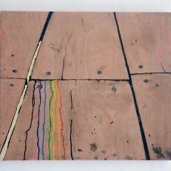 Aura Wood // Oil on Board // 60 x 91 cm // 2009