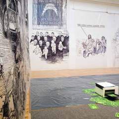 The Church of Naivety // Mixed Media // 20 x 6 x 7 m // 2010