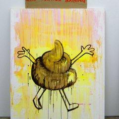 Under-Titled // Acrylic on Canvas, Cardboard, Wood // 80 x 150 cm // 2013