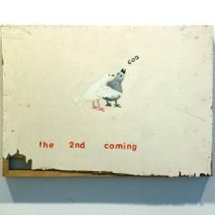 A Twee bit of Blasphemy // Oil on board // 48 x 70 cm // 2004