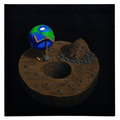 Goya's Gaia #09 // Acrylic on board 60 x 61cm // 2010