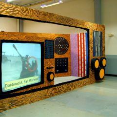 License Free TV // M.F.A. Virtual Realities N.C.A.D. // Dublin // Mixed Media // Dimensions Variable // 2003