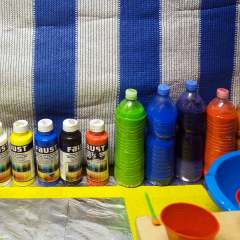 Shrine to Goethe // Paint Bottles // 14 Litres // 2007