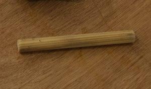 St Patricks Shafting Staff // Wood // 20 x 4 x 4 cm //