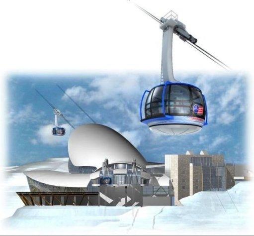 El futuro de los teleféricos se construye en Courmayeur - Noticias ...