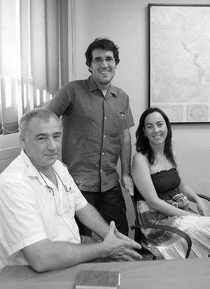 Manuel Martorell, Igor Urizar e Inge Aldekoa