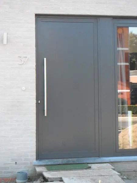 moderne voordeur