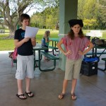 Acting out Shakespeare in the park