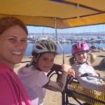 Surrey riding in Monterey Bay.