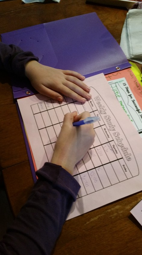 Lapbooking – Study Skills by In the Hands of a Child