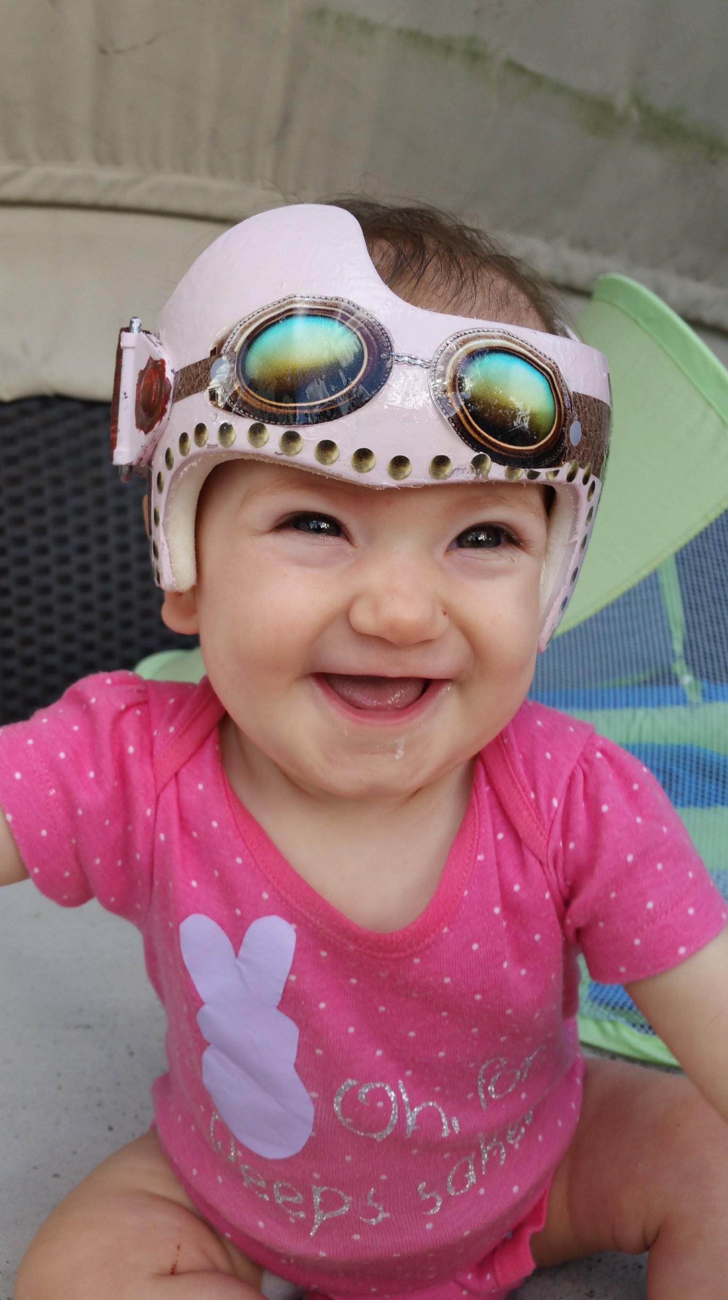 Our Little Helmet Head