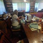 Sewing Montessori mats