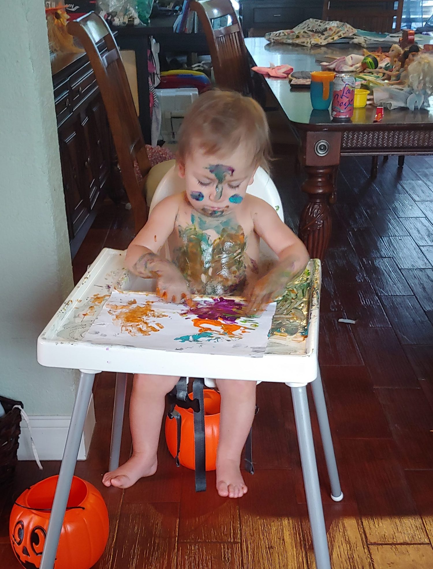 Sensory Play: The Importance of Making a Mess