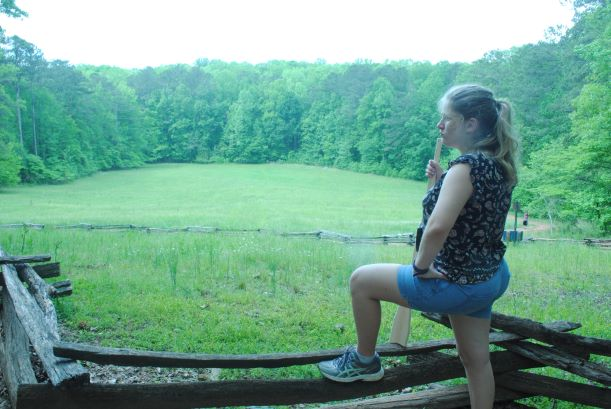 Contemplation at Kennesaw Battlefield