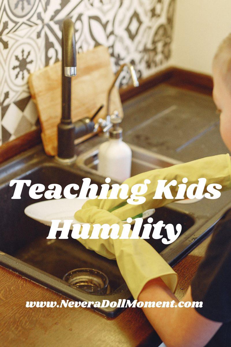 Teaching Humility