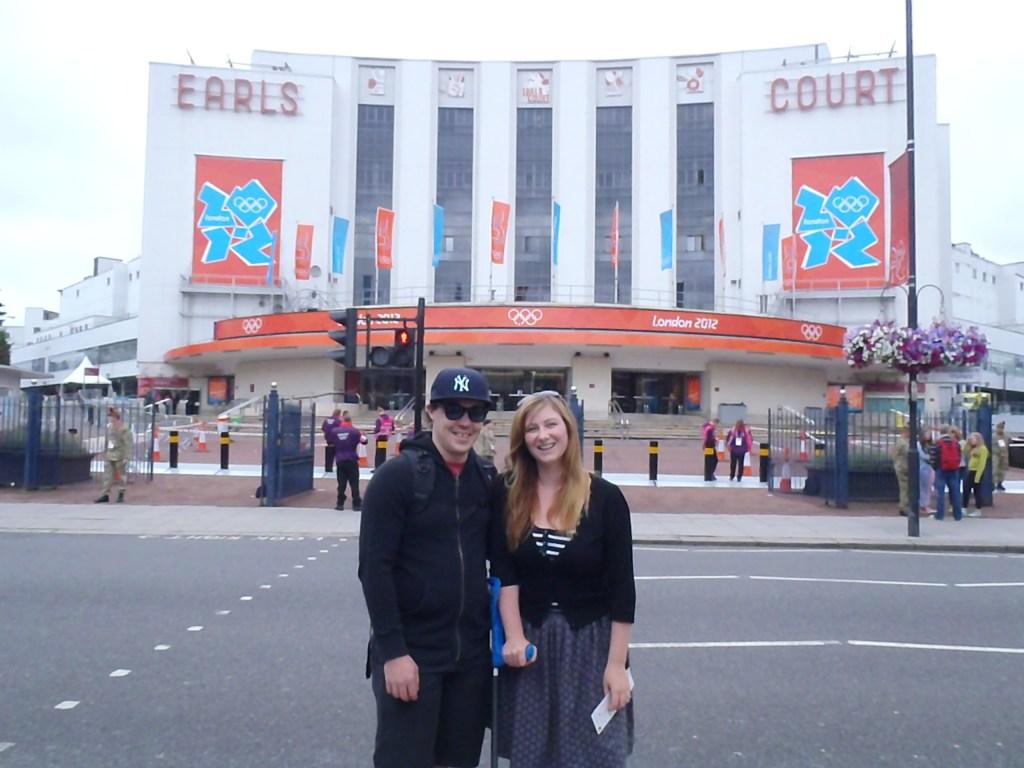 Jacqui and Dan London Olympics