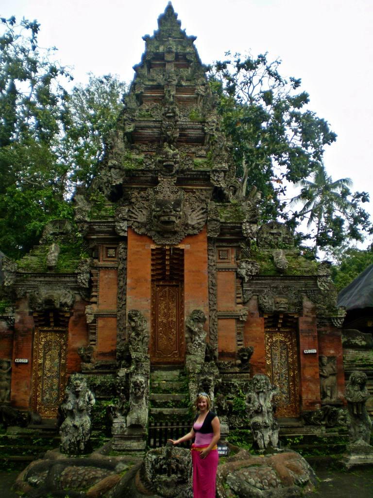 Jacqui at Bali Shrine