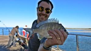 Never Ending Honeymoon | Daniel fishing in Australia