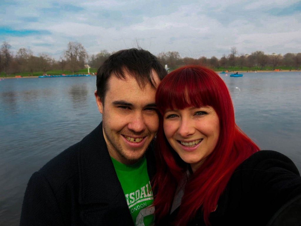 Never Ending Honeymoon | Jacqui and Dan at Hyde Park, UK