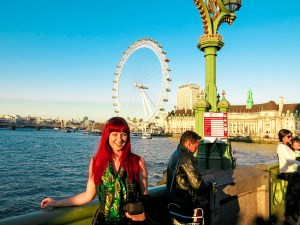 Never Ending Honeymoon   Jacqui and the London Eye