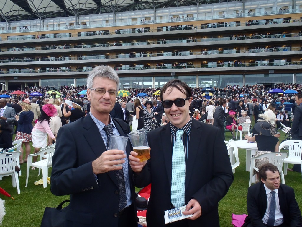 Never Ending Honeymoon | Dan and Richard at Ascot Racecourse 2012