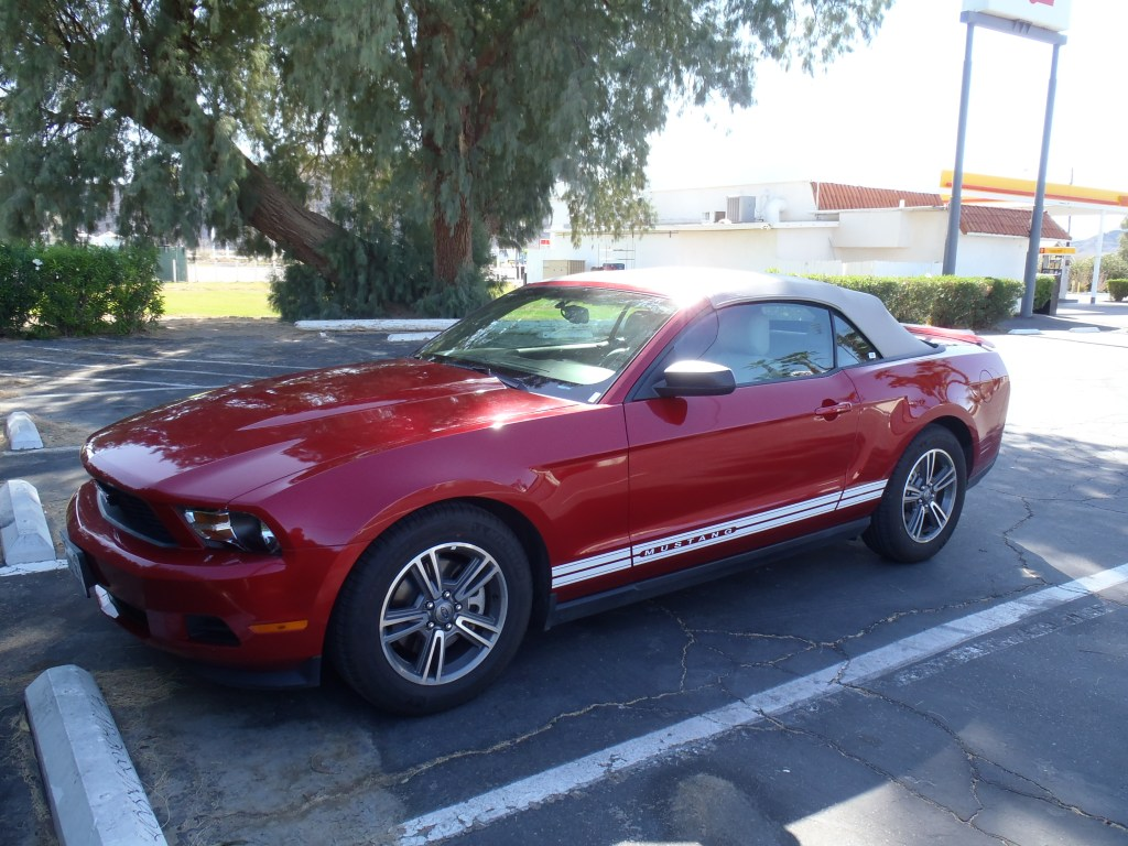 Never Ending Honeymoon | A Mustang for our American road trip