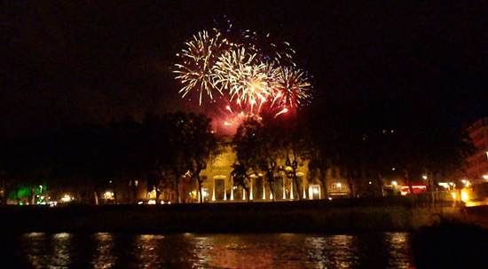 Never Ending Honeymoon | Bastille Day 2012 Fireworks, Lyon, France