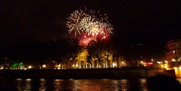 Never Ending Honeymoon | Bastille Day 2012 Fireworks, Lyon, France
