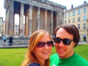 Never Ending Honeymoon   Roman ruins, Vienne, France