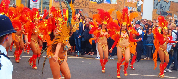 Never Ending Honeymoon | Notting Hill Carnival dancers