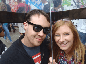 Never Ending Honeymoon | Jacqui and Daniel at Notting Hill Carnival, London
