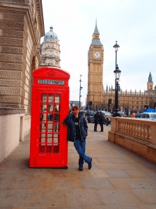 30 London Alex and phone booth