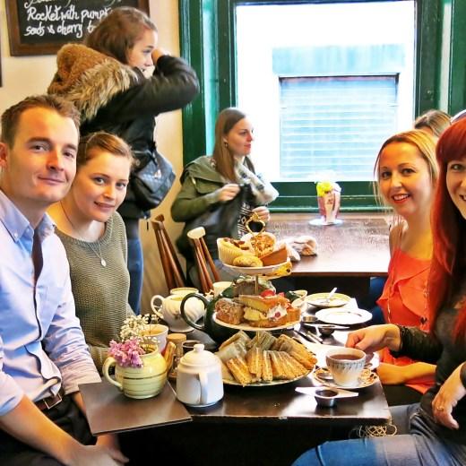 Never Ending Honeymoon | Afternoon tea at Soho Secret Tea Room, London, UK