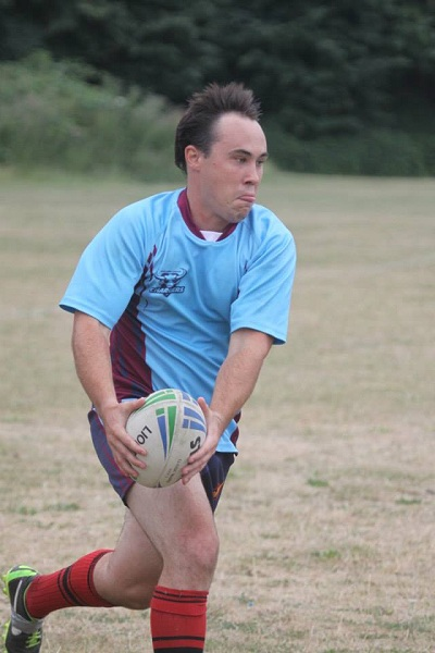 Never Ending Honeymoon | Dan playing rugby league for the South West London Chargers