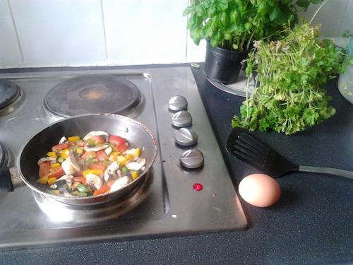 Never Ending Honeymoon | Jacqui's breakfast omelette