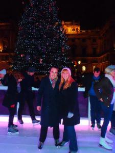 Never Ending Honeymoon | Christmas in London, Ice Skating Somerset House