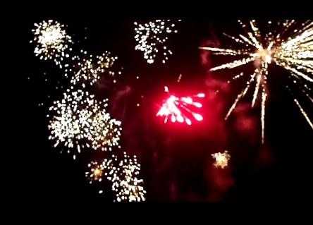 Never Ending Honeymoon   fireworks