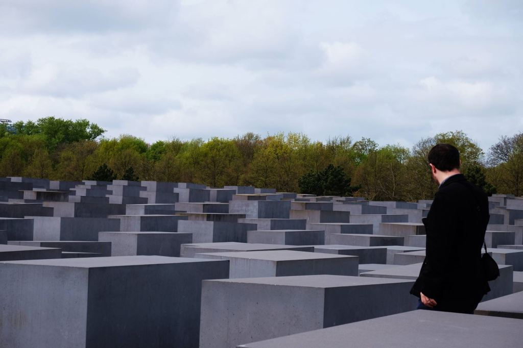 The Memorial to the Murdered Jews of Europe with Dan neh