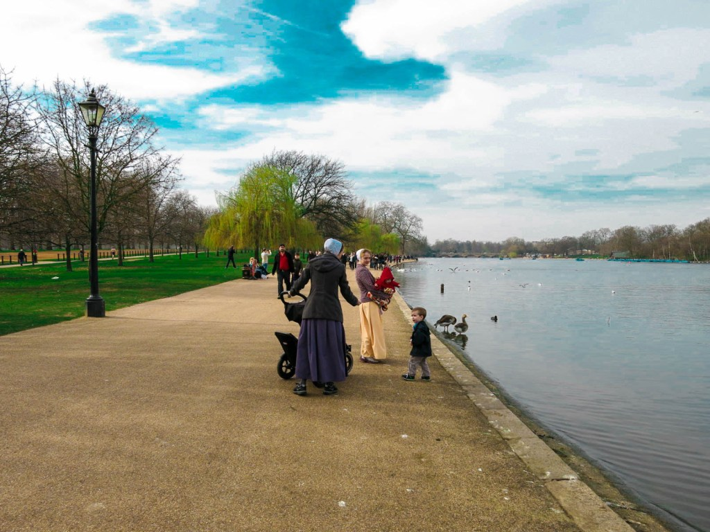 Hyde Park in the Spring