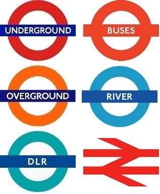 london public transport logos