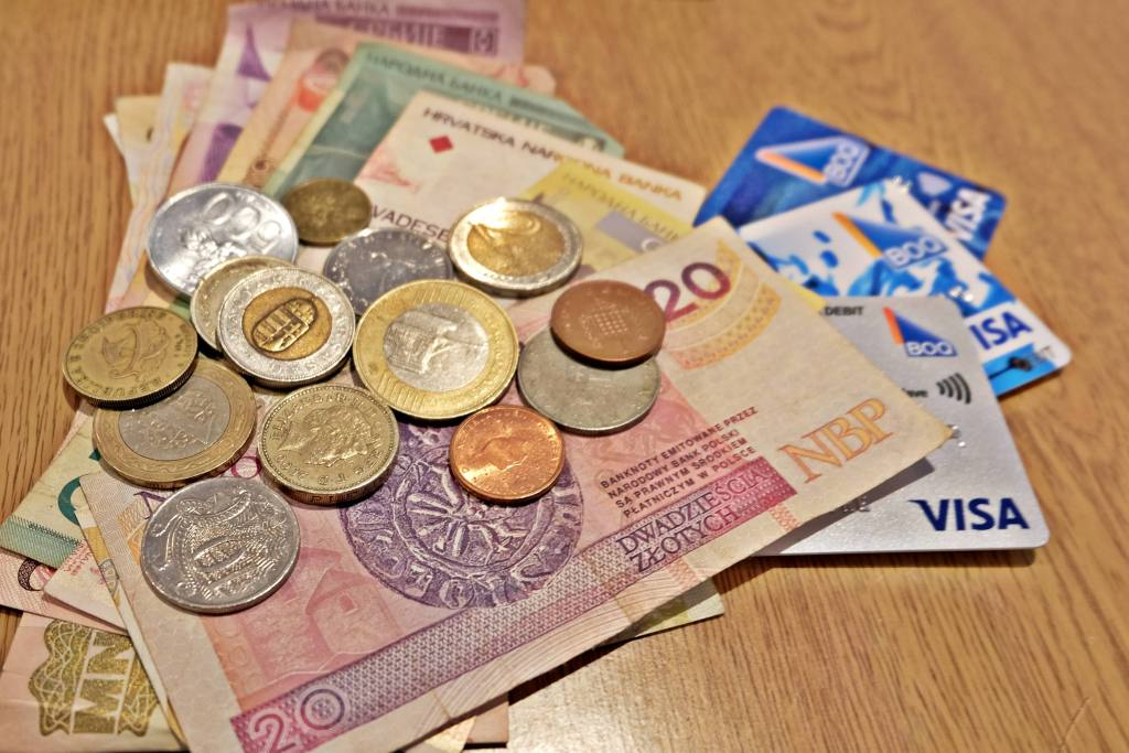 Cash and cards - how do you access your money from overseas?