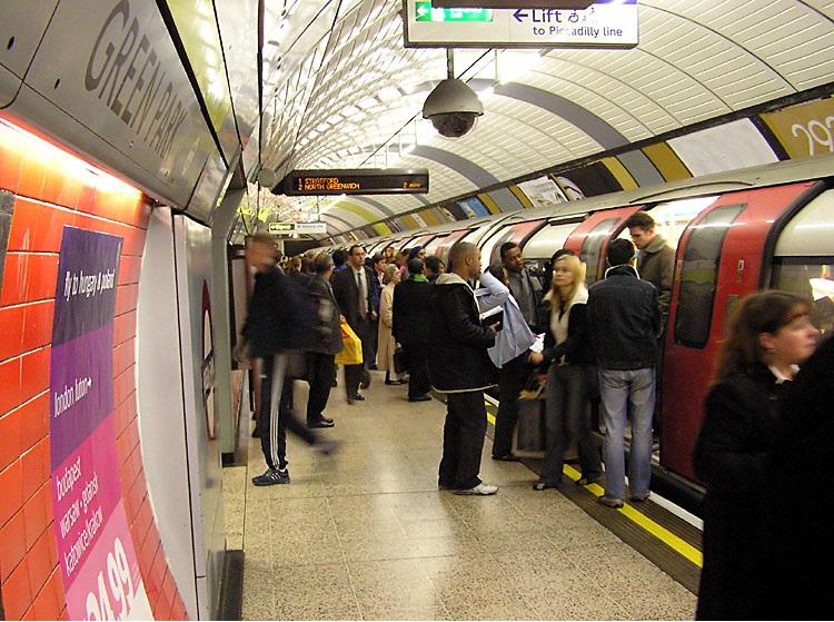 London Underground Green Park
