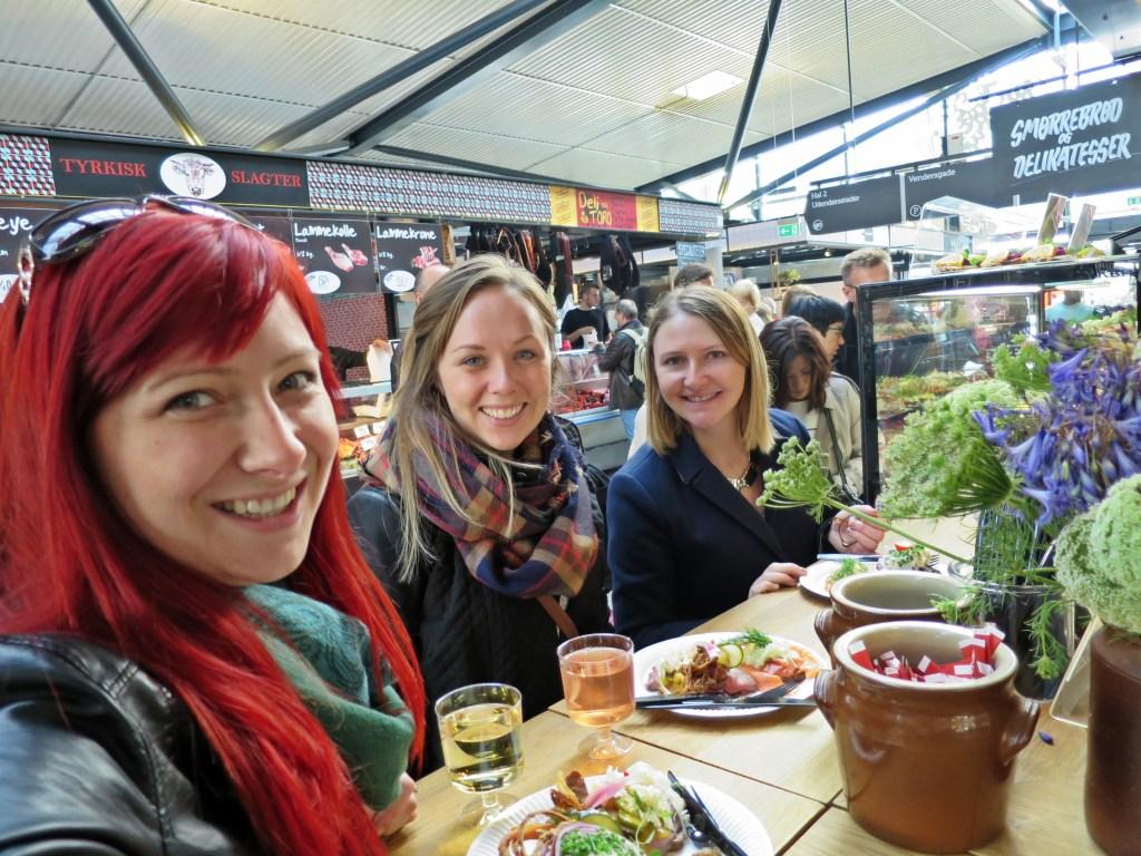Torvehallerne market in Copenhagen, Denmark