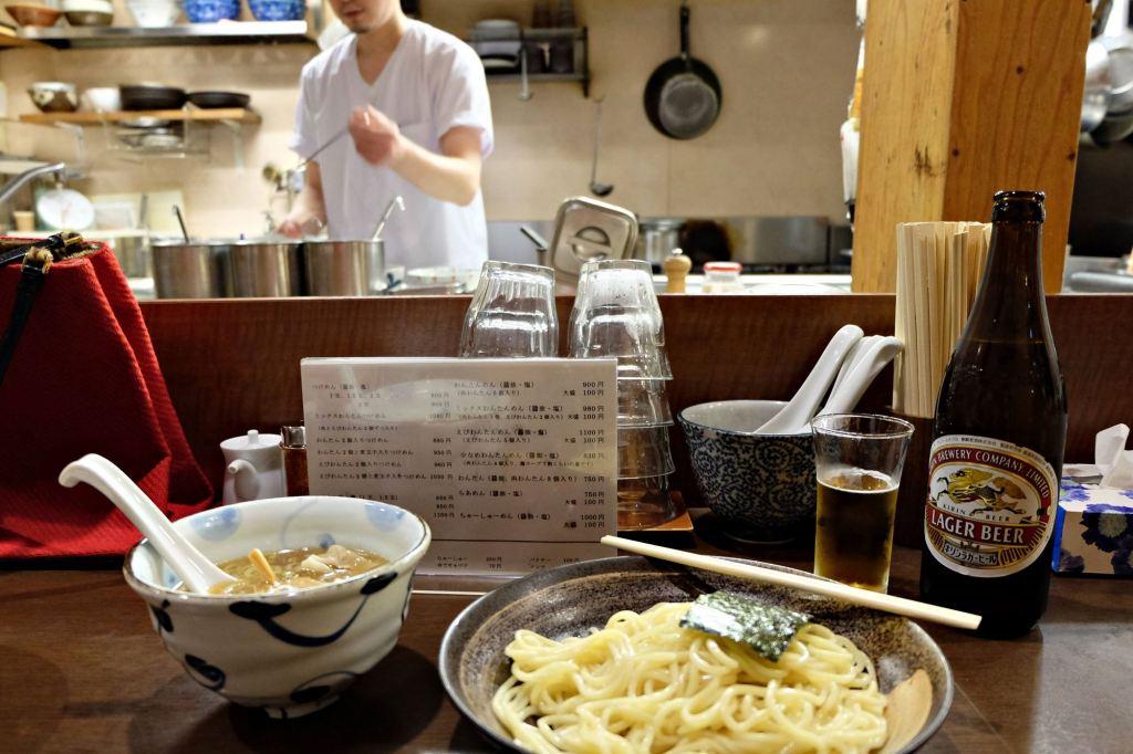 Tokyo Koenji izakaya ramen w websize