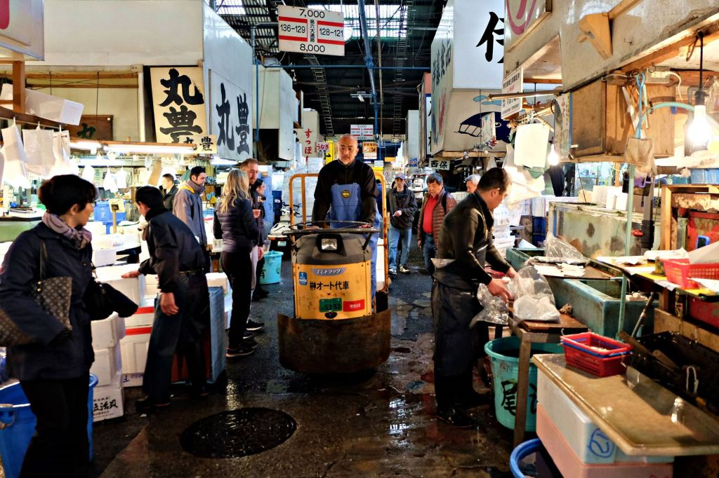 Tsukiji MarketNEH
