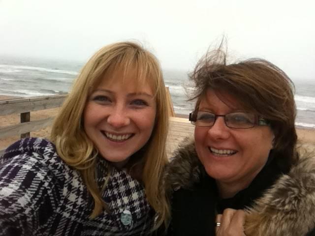 Prince Edward Island Beaches jacqui and sue