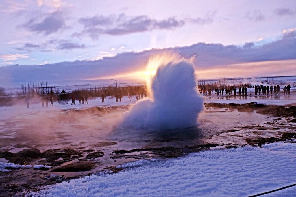 Iceland Great Geysir