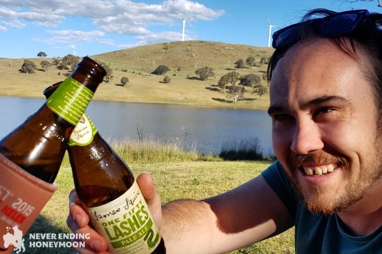 Never Ending Honeymoon at Cacoar Dam Freecamp and Windfarm